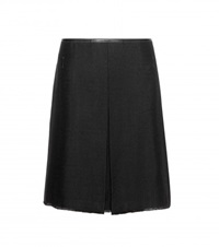 Coach Wool Blend Skirt Black