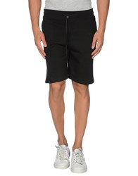 Eleven Paris Trousers Bermuda Shorts Men Black