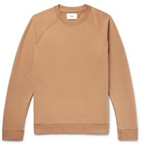 Folk Rivet Loopback Cotton Jersey Sweatshirt Sand