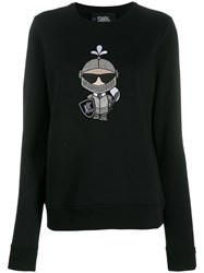Karl Lagerfeld Karl's Treasure Knight Sweatshirt Black
