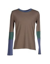 Band Of Outsiders Topwear T Shirts Men Military Green