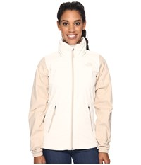 The North Face Resolve Plus Jacket Vintage White Doe Skin Brown Women's Coat