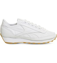 Reebok Aztec Og Leather And Nylon Trainers White Gum