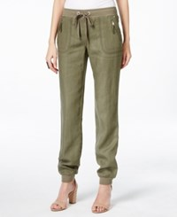 Inc International Concepts Drawstring Linen Pants Only At Macy's