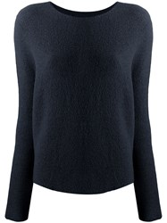 Christian Wijnants Kasima Knitted Top Blue