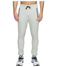 Asics Fleece Pants Light Grey Heather Men's Workout Gray