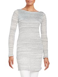 Splendid Space Dye Tunic Heather Grey