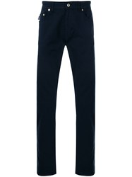 Love Moschino Slim Fit Trousers Blue