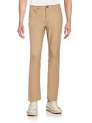 English Laundry Slim Straight Jeans Tan