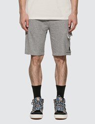 C.P. Company Cp Lens Detail Shorts Grey