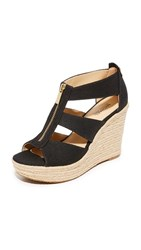 Michael Michael Kors Damita Wedges Black