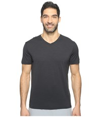 Smartwool Merino 150 Pattern V Neck Charcoal Men's T Shirt Gray