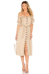 Marissa Webb Charlize Dress Neutral