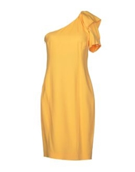 Normaluisa Short Dresses Yellow