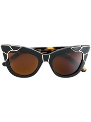 Pared Eyewear Puss And Boots Sunglasses Women Plastic One Size Black