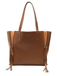 Chloe Milo Medium Leather Tote Khaki