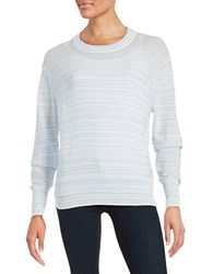 Dkny Heathered Cotton Pullover Oxford
