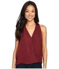 Tart Carinna Top Tawny Port Women's Clothing Red