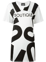Boutique Moschino Oversized T Shirt White