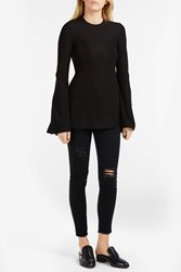 Ellery Inception Flare Top Black