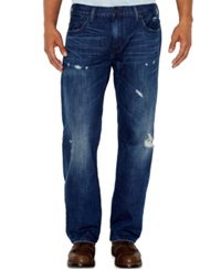 Levi's 569 Loose Fit Jeans Destructed California Native Wash
