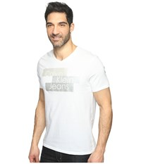 Calvin Klein Jeans Metallic Blocks Logo Tee White Wash Men's T Shirt