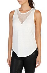 Paige Women's Briley Tank Optic White