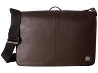 Knomo Brompton Classic Bungo Expandable Messenger Brown Messenger Bags