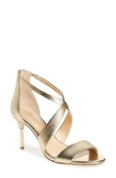 Imagine By Vince Camuto Women's 'Pascal 2' Strappy Evening Sandal Soft Gold Leather