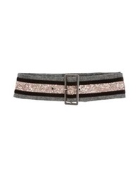 Jucca Belts Dark Brown