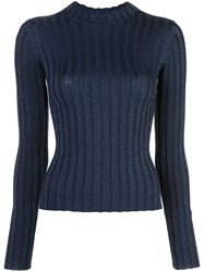 Vince Ribbed Mock Neck Sweater 60