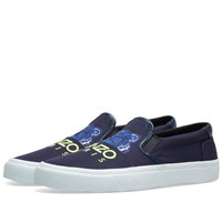 Kenzo Tiger Skate Slip On Sneaker Blue