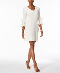 Jessica Howard Bell Sleeve Bow Detail Dress A Macy's Exclusive Style Ivory