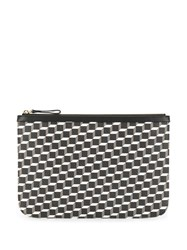 Pierre Hardy Graphic Pattern Pouch Black