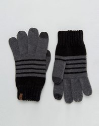 Timberland Touch Screen Gloves Grey