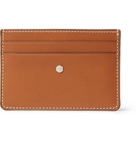 Connolly Hex 1904 Leather Cardholder Tan