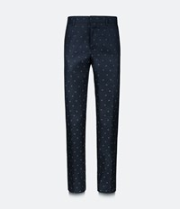 Christopher Kane Heart Tailored Trousers Black