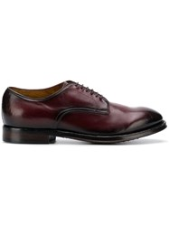 Officine Creative Lace Up Derby Shoes Pink And Purple