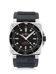 Bell And Ross Diver 300M Steel Automatic Watch Black
