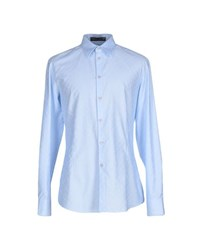 Frankie Morello Shirts Shirts Men Sky Blue