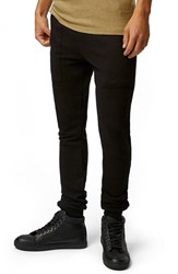 Men's Topman Skinny Fit Knit Jogger Pants With Zip Pockets