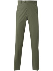 Etro Chino Trousers Green