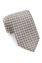 Tailorbyrd Frog Prince Silk Tie Pink