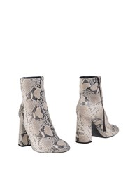 Pierre Darre Ankle Boots White