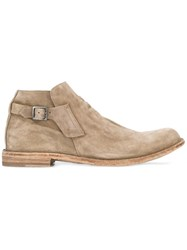 Officine Creative Ideal Ankle Boots Nude Neutrals