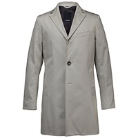 J. Lindeberg Wolger Summer Twill Cotton Trench Coat Beige