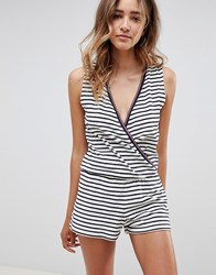 Tommy Hilfiger Towelling Playsuit White