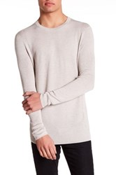Helmut Lang Front Panel Sweater Beige