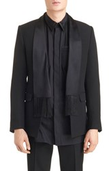 Givenchy Men's Scarf Lapel Evening Jacket