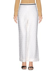 Collection Privee Casual Pants White